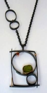 Horse Equestrian Modernist Water Buffalo Bone Amulet Pendant Necklace With Cord