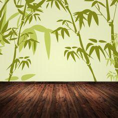 Bambus Tapete