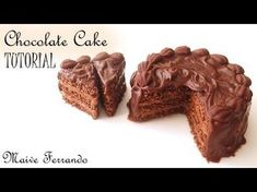 Miniature Polymer Clay Chocolate Cake Tutorial - YouTube