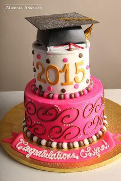Bubble Gum Pink Graduate