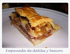 No me mires ♥: Receta: Empanada de dátiles y beacon