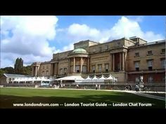 Video showing Buckingham Palace in London, from http://www.londondrum.com/cityguide/buckingham-palace.php