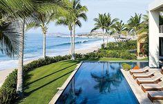 George Clooney e Cindy Crawford são tão amigos, que compraram esta casa juntos, no México (Foto: Reprodução/CasaSugar)