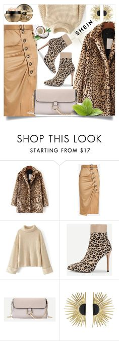 """""""shein 8"""" by amrafashion ❤ liked on Polyvore featuring WithChic, Aurélie Bidermann and Guerlain"""