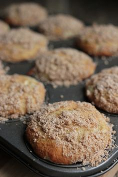 I have to make my husband banana muffins twice a week so he can have them for breakfast! It is his favorite.. I am thinking about trying these this week! :) see if he likes