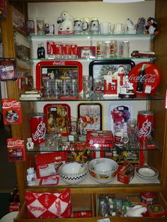 Coca Cola Collection spotted at Angela's Attic in So. Beloit, IL