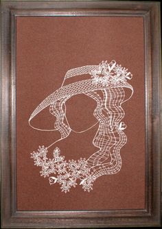 Дамы - Аня Журавлева - Picasa Albums Web Lace Embroidery, Bobbin Lace, Album, Blog, Silhouettes, Art, Lace, Baby Dolls, Needlepoint