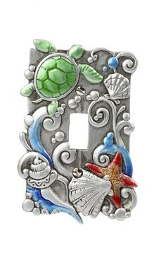 Sea Lifel Light Switch Cover -
