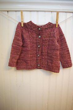 Ravelry: Heartrose Cardigan pattern by Leah B. Cardigan Pattern, Knitting For Kids, Ravelry, Pullover, Crochet, Sweaters, Stuff To Buy, Inspiration, 4 Years