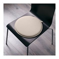 IKEA - CILLA, Poduszka na krzesło, , Antypoślizgowy podkład utrzymuje poduszkę…