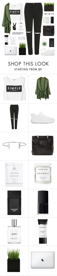 """""""//s t r i k i n g  c o m f o r t//"""" by lion-smile ❤ liked on Polyvore featuring Monki, Topshop, Humble Chic, Kiehl's, Herbivore, Tom Ford, NARS Cosmetics, philosophy and Smashbox"""