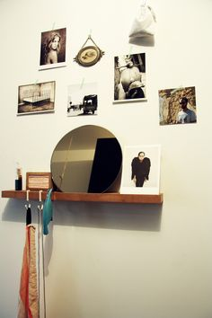 stylng, mae engelgeer, mirror, round, photo's