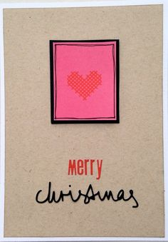 #christmas card by Michelle www.crela.ch  #cardmaking