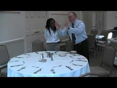 Wedgewood Weddings - How to set up a table.mov - YouTube