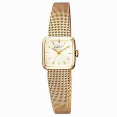 MARGARET HOWELL idea マーガレット・ハウエル アイディア SQUARE MESH スクエアメッシュ 腕時計 ゴールド BG2-329-31: TiCTAC 腕時計の通販サイト【チックタックオンラインストア】¥38,880