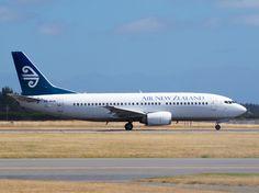 Air New Zealand 737 at Christchurch  Type: Boeing 737-3K2 Registration: ZK-NGK Location: Christchurch International Airport Date: 22/01/2013