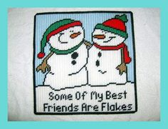 snowmen counted cross stitch patterns