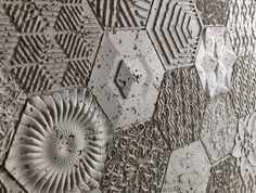 New Faux Concrete Range Hexagon available now from Dreamwall Montage, Concrete, Abstract, Artwork, Cards, Design, Vanity, 3d, Natural
