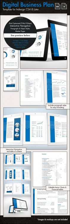 Business Plan Template - US Letter Template Download   - business plan templates