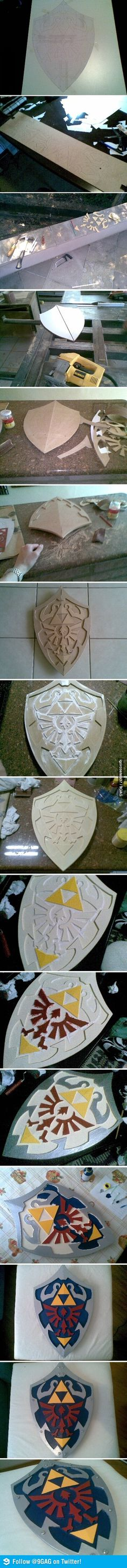 Zelda shield. Epic shield of awesome.