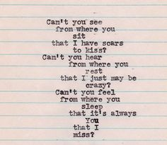 it's always you