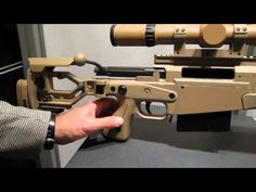 Accuracy International AX338 Lapua Magnum Sniper Rifle Made in EnglandLoading that magazine is a pain! Get your Magazine speedloader today! http://www.amazon.com/shops/raeind