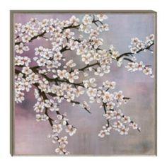 Plum Blossom Framed Canvas Wall Art (Kohls $120)