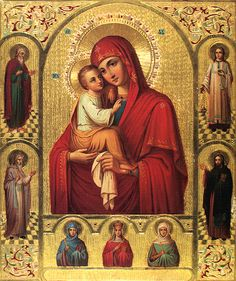 Icon of the Mother of God of Pochaev - Orthodox Church in America