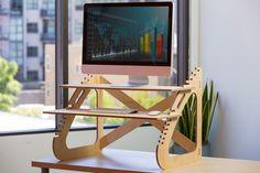 TheReadyDesk adjustable standing desk