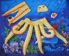 Octopus kostuum patroon voor zuigelingen van BonnieProjects op Etsy