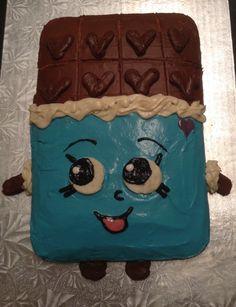 Shopkin Cake Cheeky Chocolate For My Cousins Birthday
