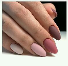 We deeply hope these 70 Most Gorgeous 😊 Almond Matte Nails Inspirational Arts. - - We deeply hope these 70 Most Gorgeous 😊 Almond Matte Nails Inspirational Arts be your favorite choice💞💅. We hope you love it and save it. Cute Acrylic Nails, Matte Nails, Pink Nails, Acrylic Nails Almond Matte, Burgendy Nails, Oxblood Nails, Magenta Nails, Nails Turquoise, Almond Nail Art