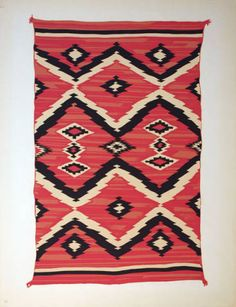 Navajo Blanket. c.1935-1939. Roswell Museum
