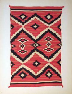 Navajo Blanket. c.1935-1939.  Roswell Museum