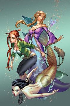 #Damsels #1 (Virgin Cover) #Dynamite (Cover Artist: J. Scott Campbell)