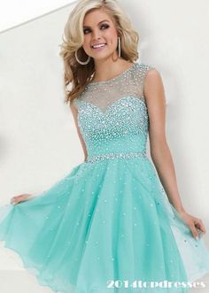 """These dama dresses we've chosen are straight out of a fairy tale and guaranteed to give your damas a """"happily ever after"""" type of feeling! Short prom dress -- cheapest prom dresses, plus size short prom dresses Click VISIT above for more options Semi Dresses, Sweet 16 Dresses, Grad Dresses, Dance Dresses, Pretty Dresses, Beautiful Dresses, Short Dresses, Dresses 2014, Teal Homecoming Dresses"""