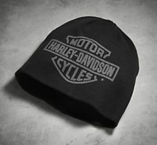 Logo Knit Cap Harley Davidson Dealership, Harley Davidson Motorcycles, Harley Davidson Online Store, Harley Gear, American Flag Art, Biker Wear, I Cool, Caps Hats, West Coast