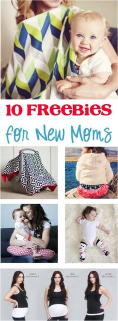 10 Freebies for New Moms! {these make such great Baby Shower gifts, too!}