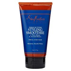 SheaMoisture Three Butters Styling Smoothie for Thick Curly Hair - 6 oz