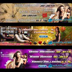 Hubungi Kami 24jam ON: LIVECHAT : MAXPLAY88.COM PIN BB : 2BC5852B YM : cs.maxplay88 WA : +63 995 566 7379 LINE: Maxplay88  #agenbola #agenjudi #agenpoker #agentogel #bandarbola #bandarjudi #pokeronline #pokerindonesia #bandarpoker #bandardomino #sabungayam #bandartogel #togelonline #tembakikan #prediksibola #pasaranbola #judikartu #judionline #taruhanbola #taruhanonline #livecasino Live Casino, Poker, Sign, Band, Lute, Sash, Signs, Board, Bands