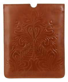 Love this Tobacco Lucy Leather iPad Case on #zulily! #zulilyfinds