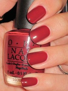 new darker nail colors for fall  (This one is O.P.I.- I'm Suzi & I'm a Chocoholic)