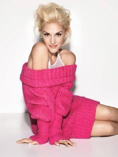 Gwen Stefani.....good voice...beautiful...great style....platinum hair.  She can do a one armed push up while singing.  Damn!