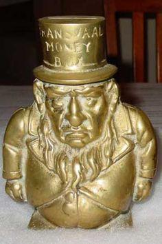 Paul Kruger Transvaal Money Box 1