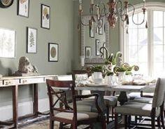 paint color: walls: mushroom cap #177benjamin moore. ceiling
