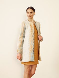 Valencia coat Singapore dress