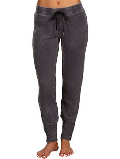 Juicy Couture - Relaxed Sweat Pant with Button Detail (Granite) - Apparel, $77.99  #JuicyCouture