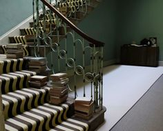 Carpet Runners For Stairways Product Striped Carpet Stairs, Striped Carpets, Hallway Carpet Runners, Cheap Carpet Runners, Stair Runners, Bordeaux, Alternative Flooring, Textured Carpet, Stairways