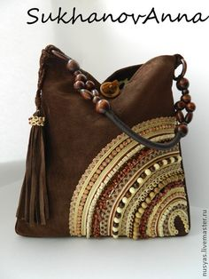 "Handbags handmade.  Fair Masters - handmade Bag ""Chocolate dessert"".  Handmade."