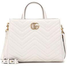 20d734695ef Gucci GG Marmont Small matelassé leather tote  Gucci  cap ShopStyle  MyShopStyle  click